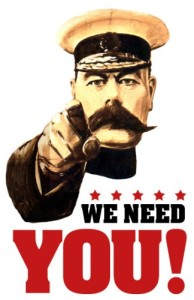 We need you image
