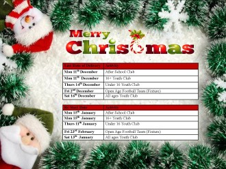 Christmas and New Year Closure